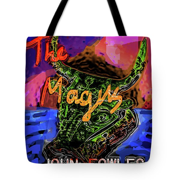 Fowles Magus Poster  Tote Bag