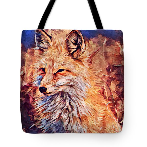 Fox 2 Tote Bag
