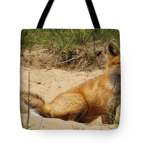 Fox In The Woods 2 Tote Bag