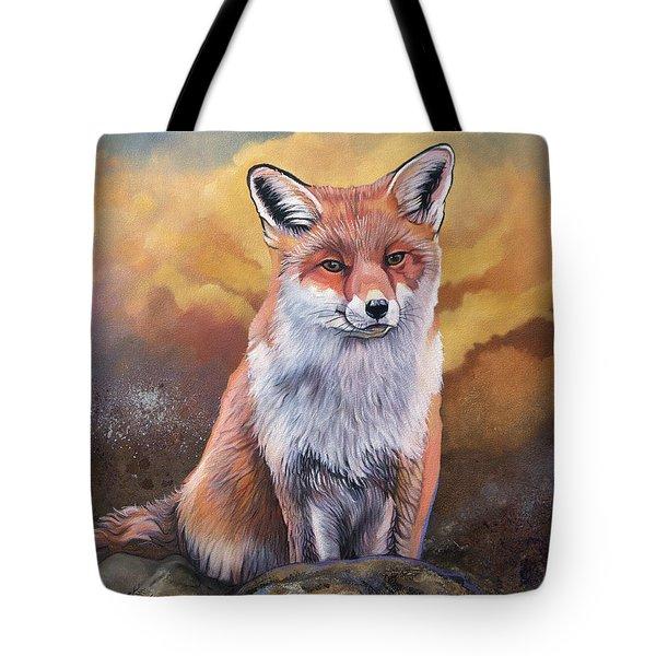 Fox Knows Tote Bag