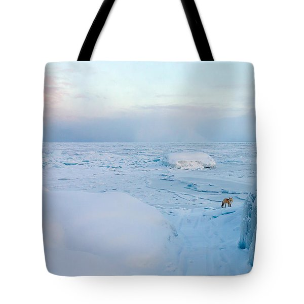 Tote Bag featuring the photograph Fox Of The North I by Mary Amerman