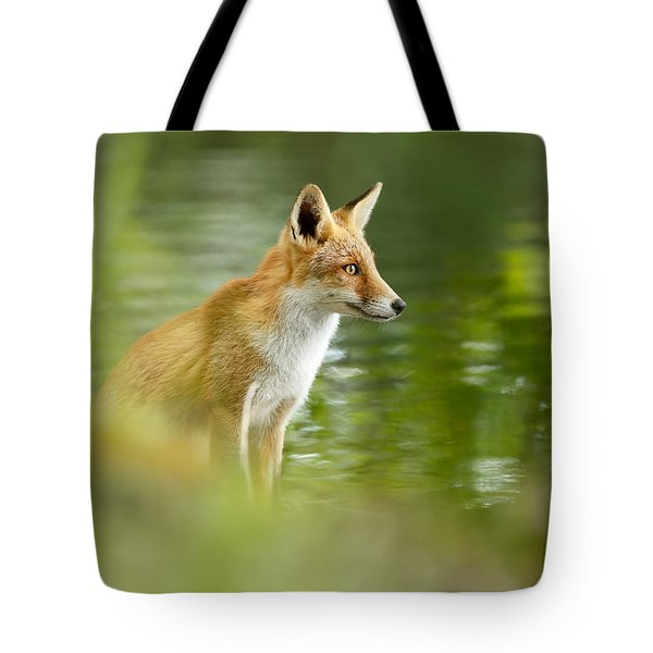 Fox Reflections Tote Bag