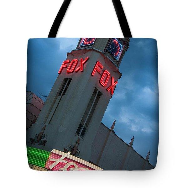 Fox Theater Merle Haggard Tribute Tote Bag