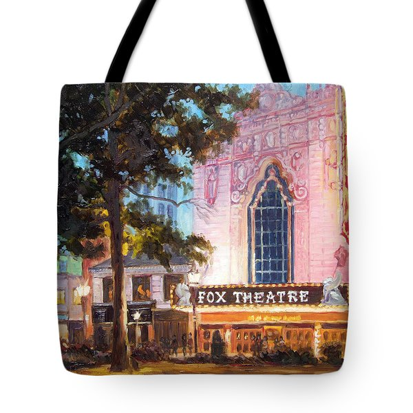 Fox Theatre In St.louis Tote Bag