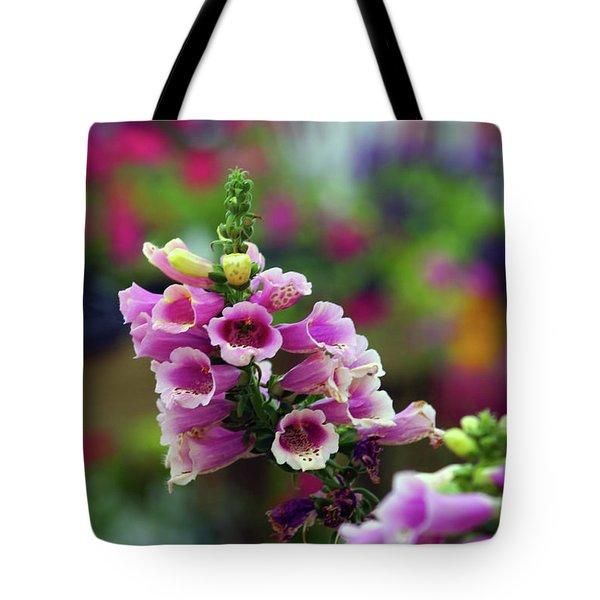 Foxglove 1154 H_2 Tote Bag
