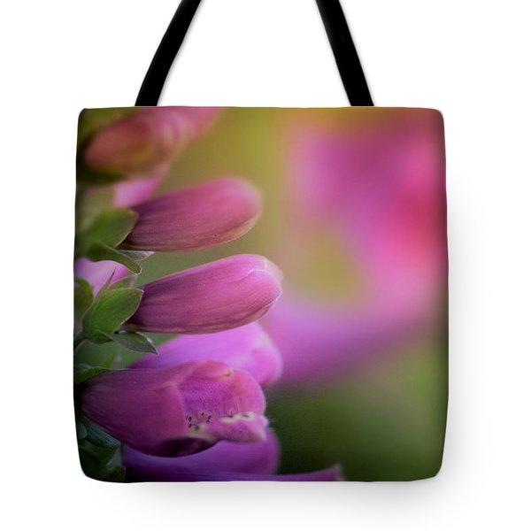 Foxglove Tote Bag