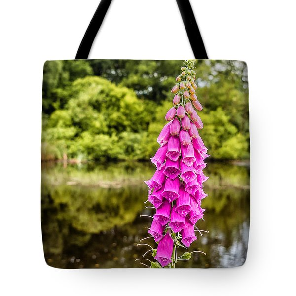 Foxglove In Flower Tote Bag