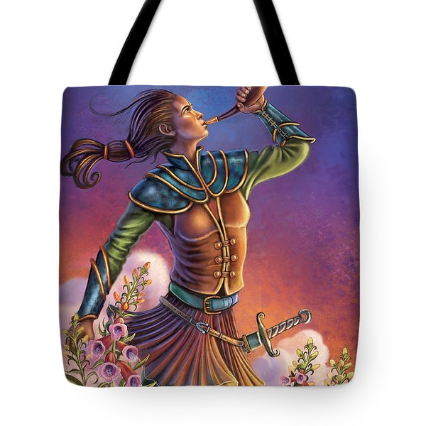 Foxglove - Summon Your Courage Tote Bag