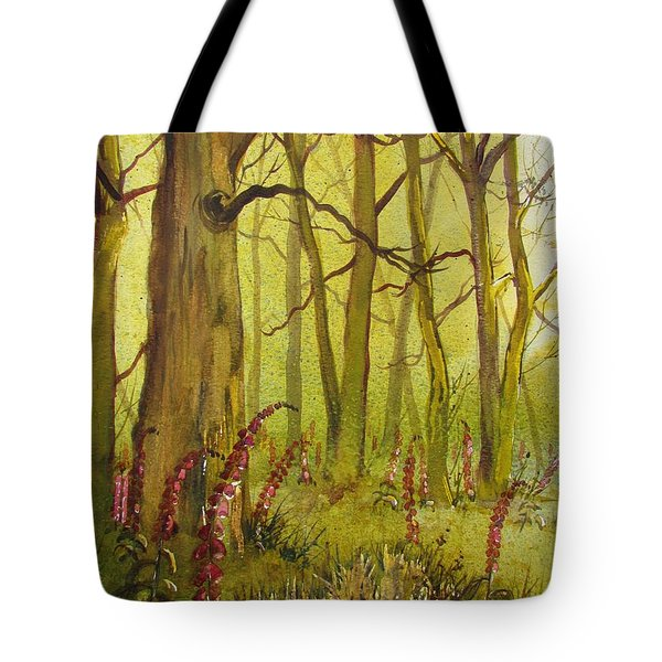 Foxgloves In Fairy Call Beck Tote Bag