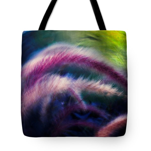 Foxtails In Shadows Tote Bag