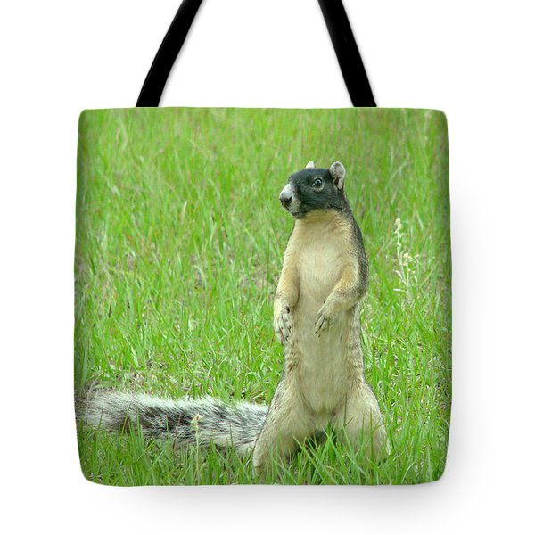 Foxy Tote Bag by Adele Moscaritolo