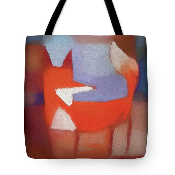 Foxy Art Tote Bag