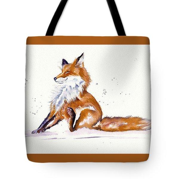 Foxy Flea Magnet Tote Bag