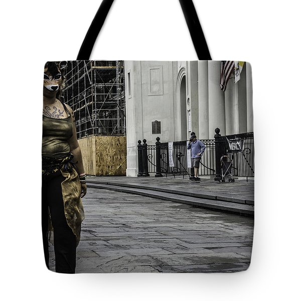 Foxy Lady, New Orleans, Louisiana Tote Bag