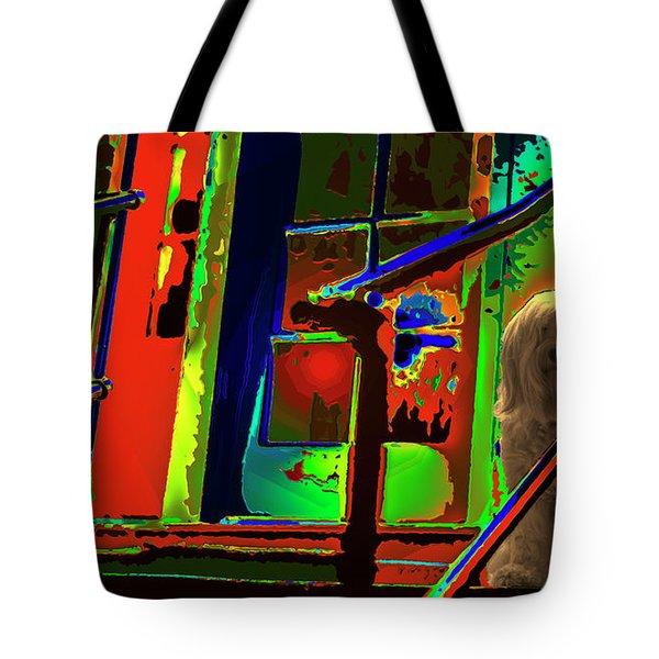 Foxy Roxy Tote Bag