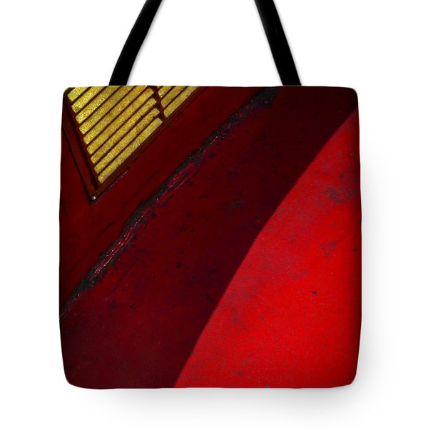 Tote Bag featuring the photograph Foxy by Skip Hunt