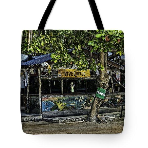 Foxy's On Jost Van Dyke Tote Bag