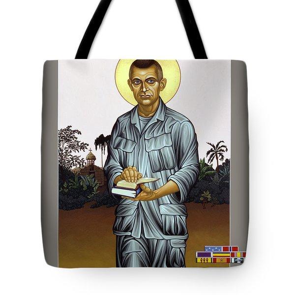 Fr. Vincent Capodanno, The Grunt Padre - Lwvcd     Tote Bag