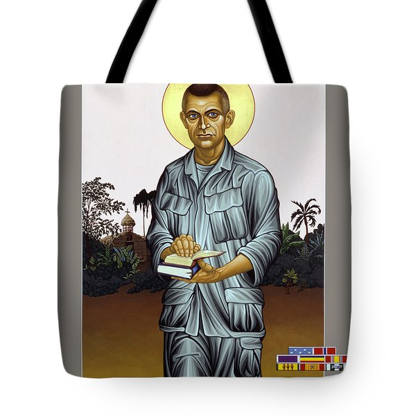 Fr. Vincent Capodanno, The Grunt Padre - Lwvcd     Tote Bag