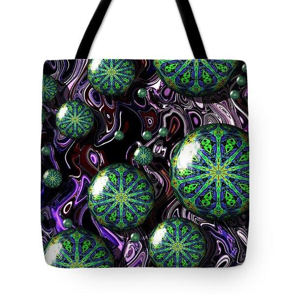 Fractal Abstract 7816.5 Tote Bag
