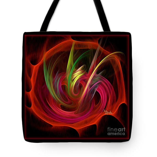 Fractal Fantasy Art - The Bouquet By Rgiada Tote Bag