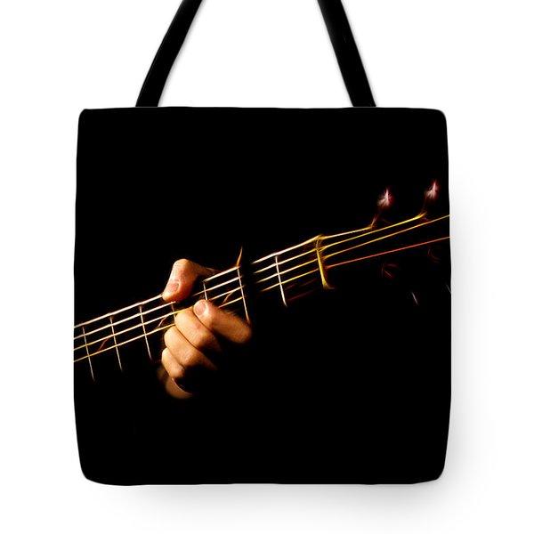 Fractal Frets Tote Bag