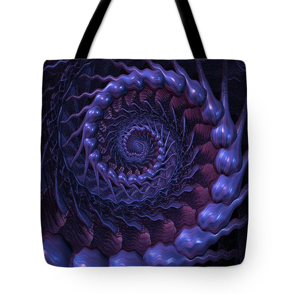Fractal In The Bass Tones Tote Bag