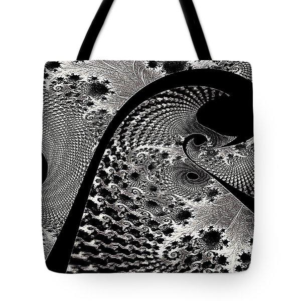 Fractal Japonica Tote Bag