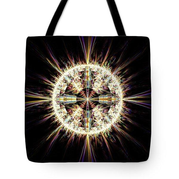 Fractal Jewel Tote Bag