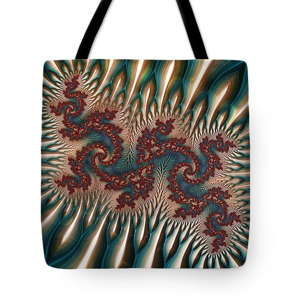 Fractal Landscape V Tote Bag