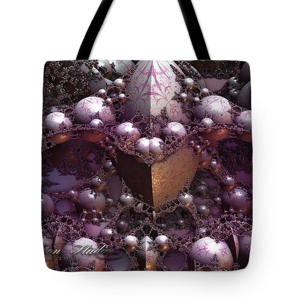 Fractal Mine Field Tote Bag
