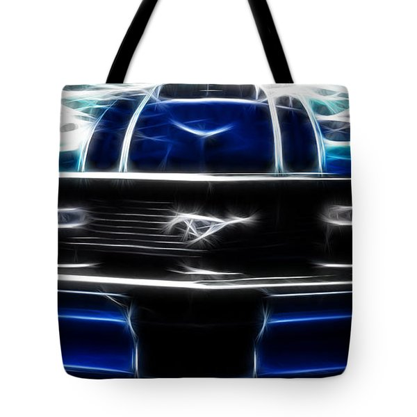 Tote Bag featuring the photograph Fractal Pony by Lynne Jenkins