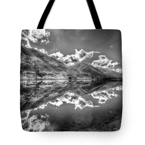 Fractal Reflections Tote Bag