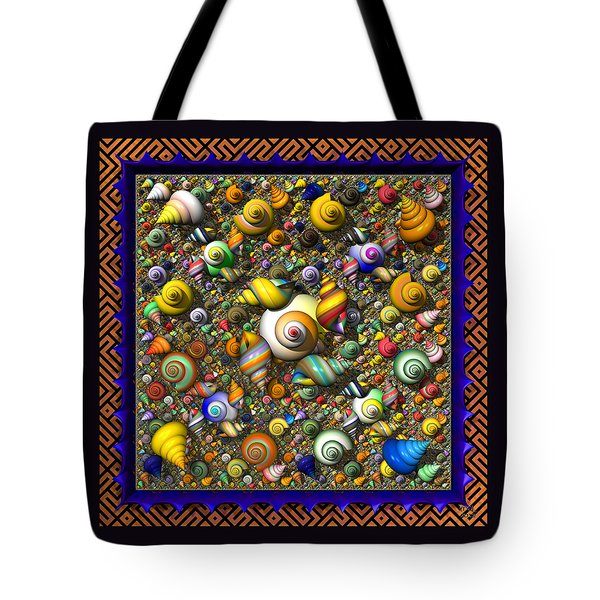 Fractal Shell Collector Tote Bag