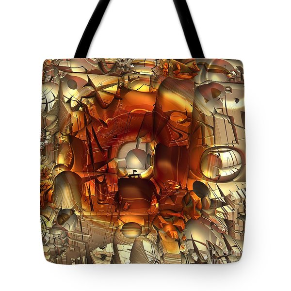 Fractal Within A Fractal Tote Bag