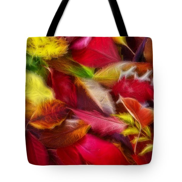 Tote Bag featuring the photograph Fractalius Leaves by Shane Bechler