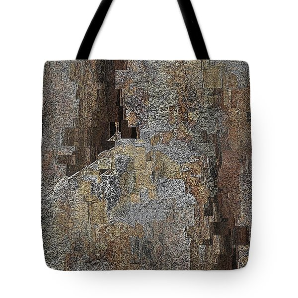 Fracture Frenzy Tote Bag by Tim Allen