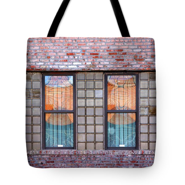 Fracture Reflection Tote Bag