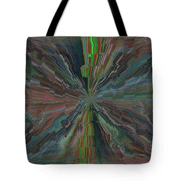 Fractured Frenzy Tote Bag by Tim Allen