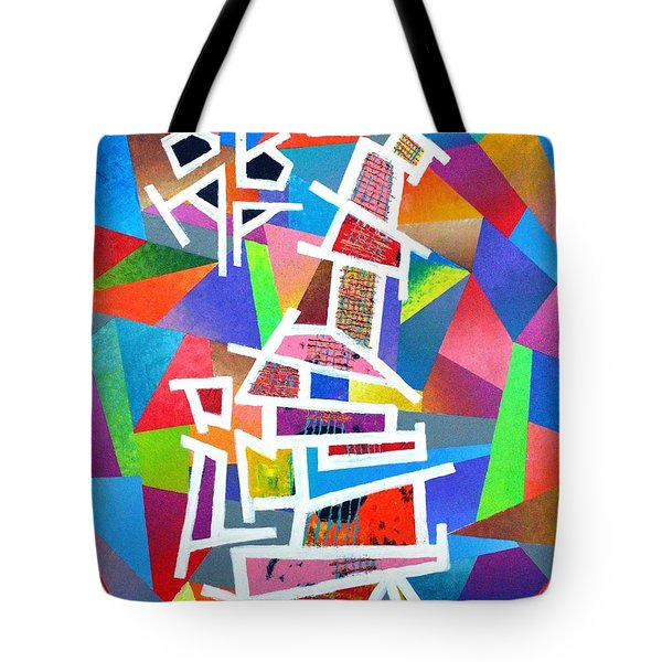 Fractured Instrument Of Love Tote Bag