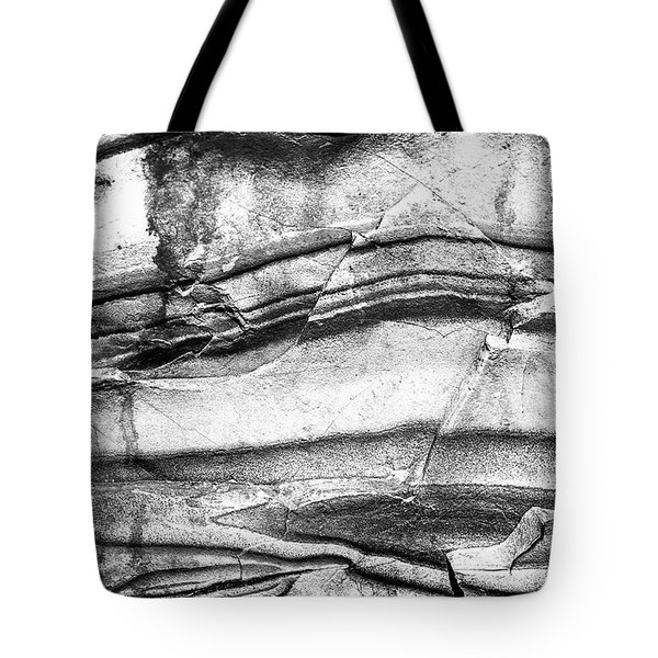 Fractured Rock Tote Bag by Onyonet  Photo Studios