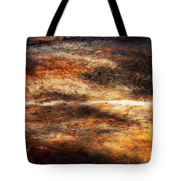 Tote Bag featuring the photograph Fractured by Ryan Manuel
