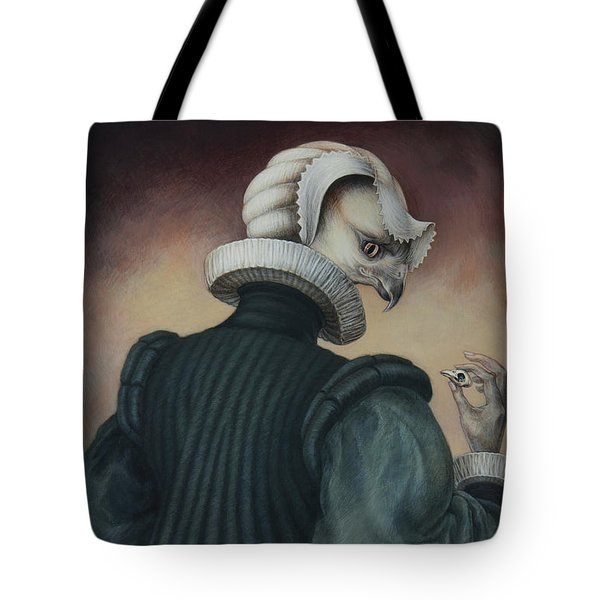 Fragile Assertion Tote Bag by Yvonne Wright