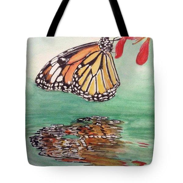 Fragile Reflection Tote Bag