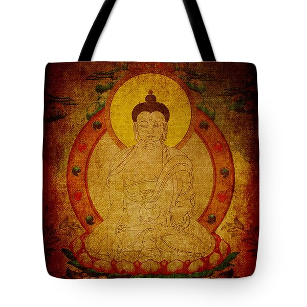 Fragmentary Thangka Tote Bag