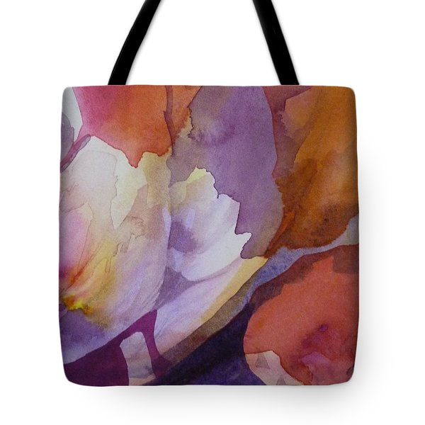 Fragments Tote Bag by Donna Acheson-Juillet