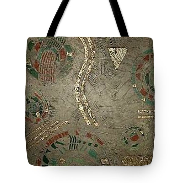 Fragments From Atlantis Tote Bag by Bernard Goodman