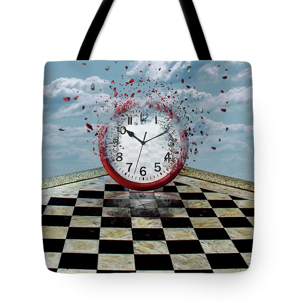 Fragments Of Time Tote Bag