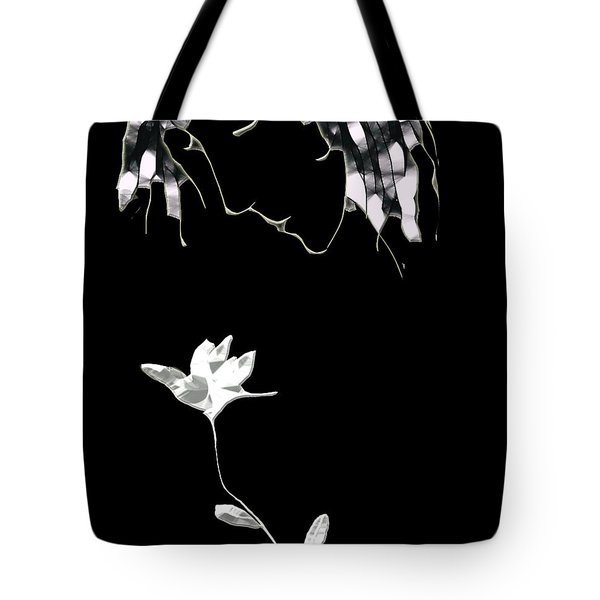 Tote Bag featuring the digital art Fragrance by Asok Mukhopadhyay