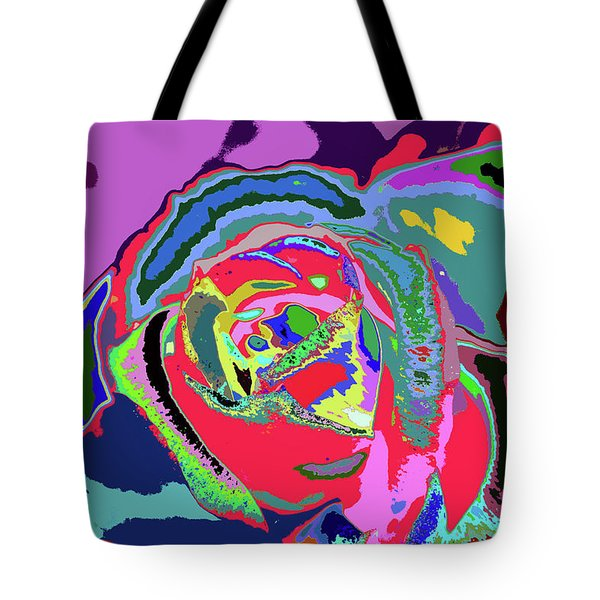 Fragrance Of Color  Tote Bag